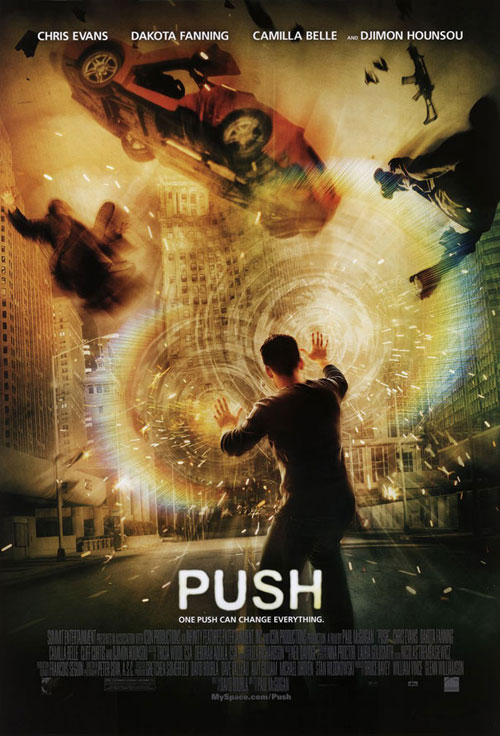 Us poster from the movie Push