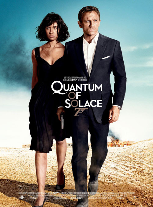Us poster from the movie Quantum of Solace