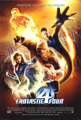 Us poster from the movie Fantastic Four