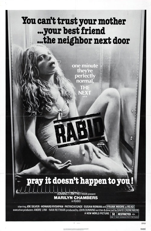 Us poster from the movie Rabid