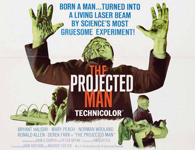 British poster from the movie The Projected Man