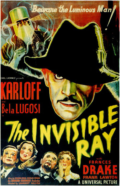 Us poster from the movie The Invisible Ray