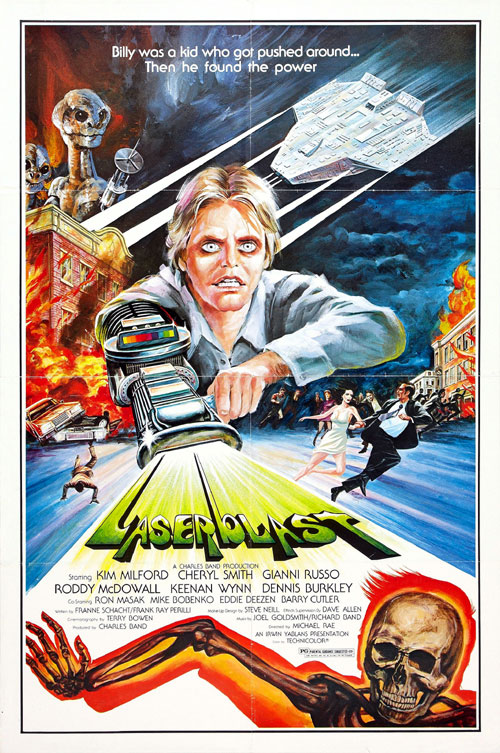 Us poster from the movie Laserblast