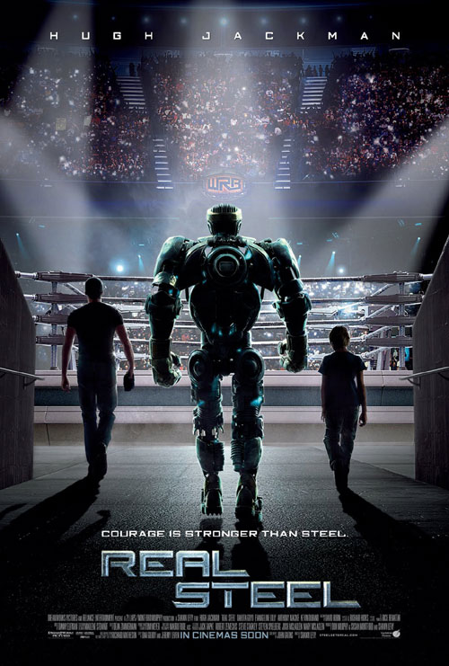 Us poster from the movie Real Steel
