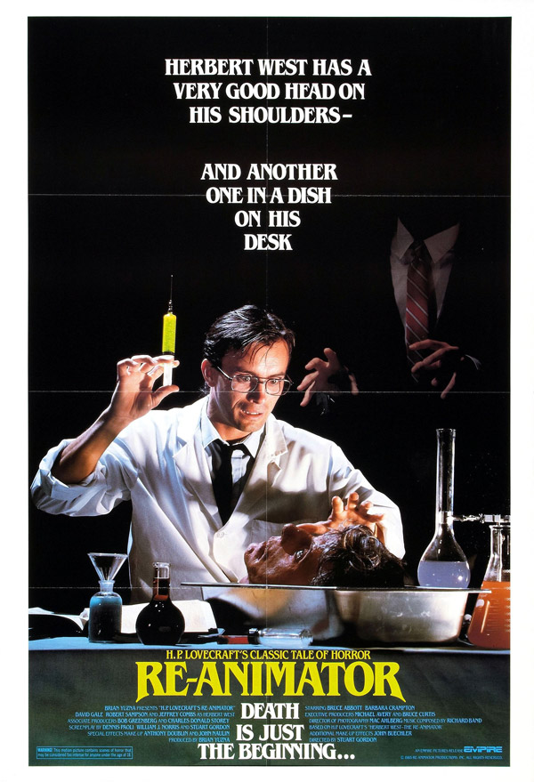 Us poster from the movie Re-Animator