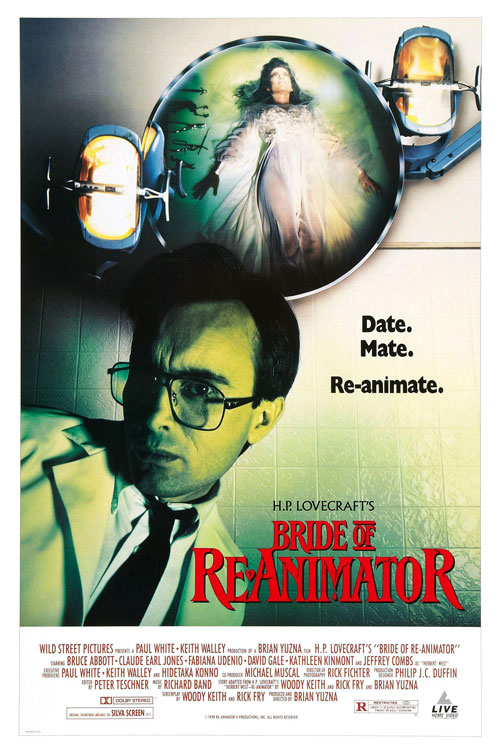 Us poster from the movie Bride of Re-Animator