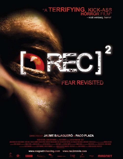 Us poster from the movie [REC]²