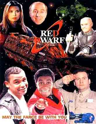 British poster from the series Red Dwarf