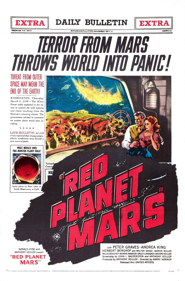 Us poster from the movie Red Planet Mars