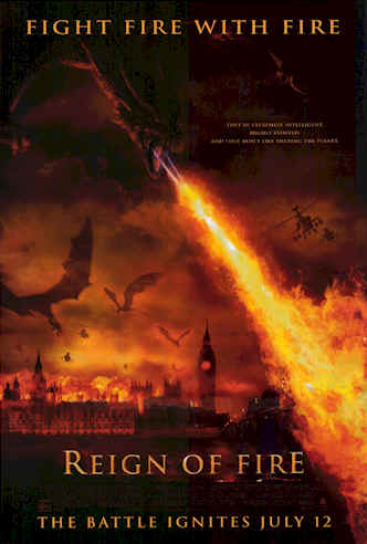 Us poster from the movie Reign of Fire