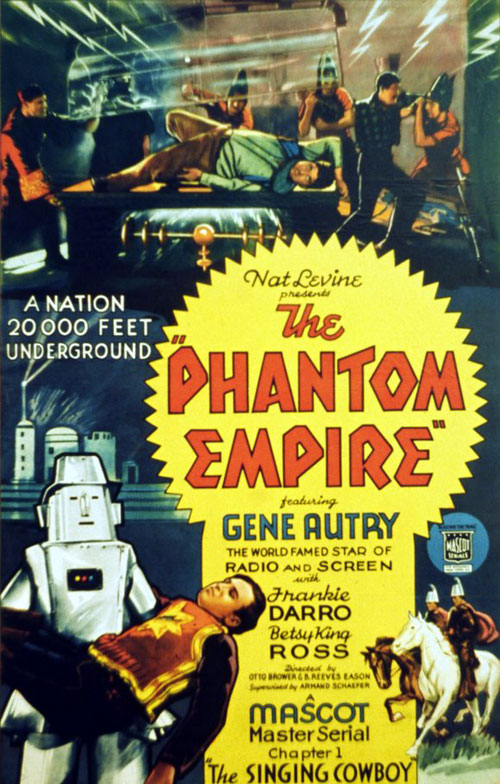 Us poster from the movie The Phantom Empire