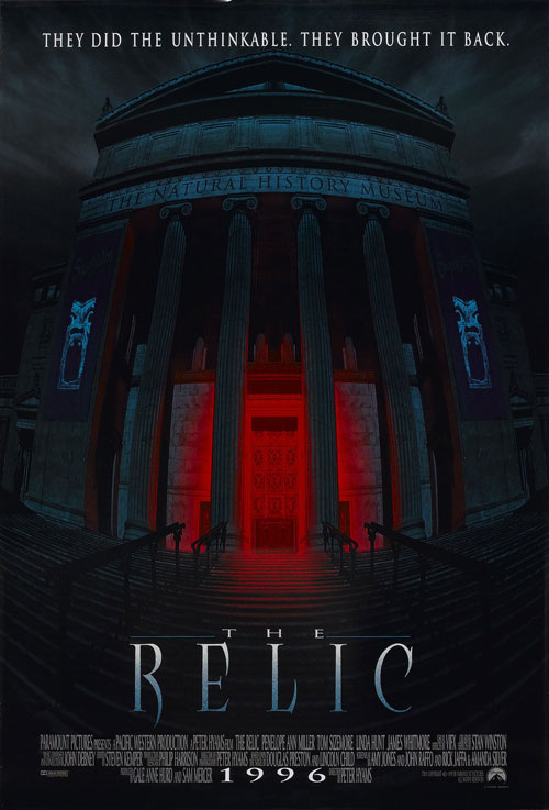 Us poster from the movie The Relic