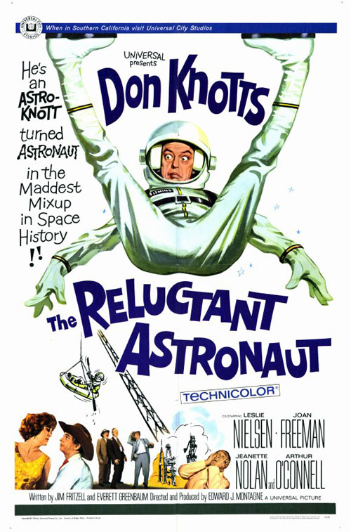 Us poster from the movie The Reluctant Astronaut