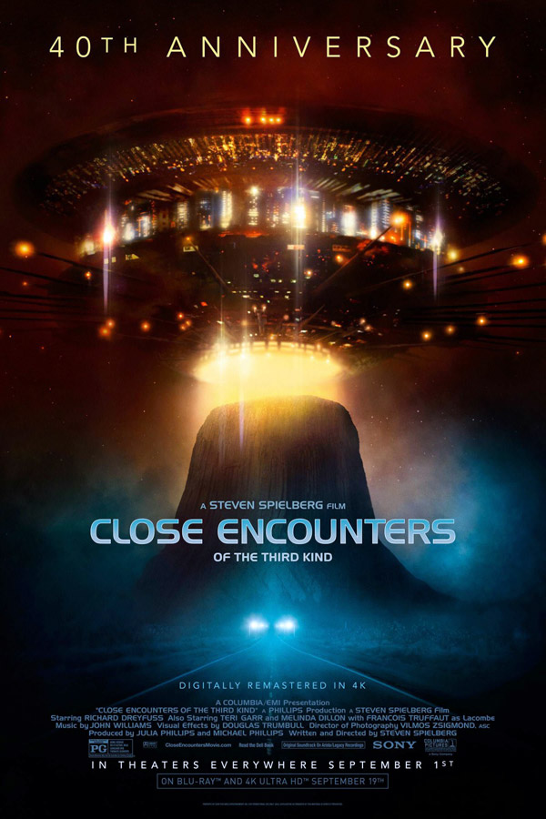 Us poster from the movie Close Encounters of the Third Kind
