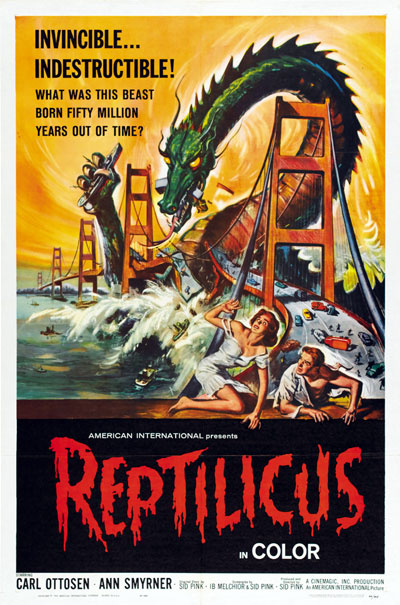 Us poster from the movie Reptilicus