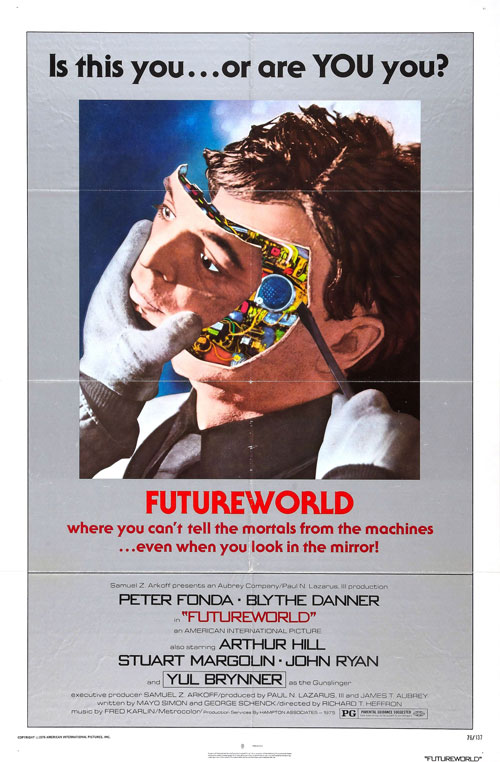Us poster from the movie Futureworld