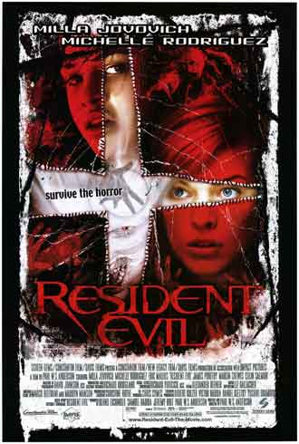 Us poster from the movie Resident Evil