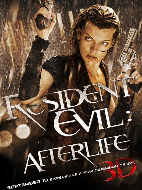 Us poster from the movie Resident Evil: Afterlife