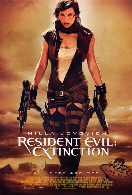 Us poster from the movie Resident Evil: Extinction