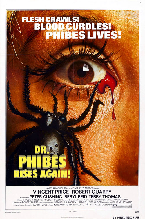 Us poster from the movie Dr. Phibes Rises Again