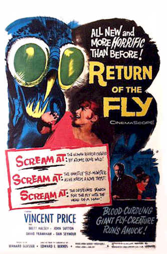 Unknown poster from the movie Return of the Fly