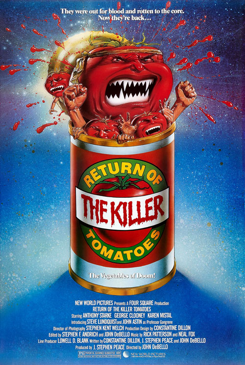 Us poster from the movie Return of the Killer Tomatoes!