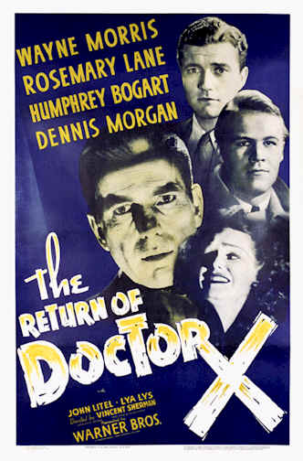 Unknown poster from the movie The Return of Doctor X