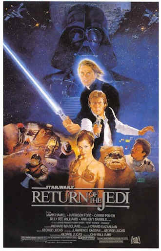Unknown poster from the movie Star Wars: Episode VI - Return of the Jedi