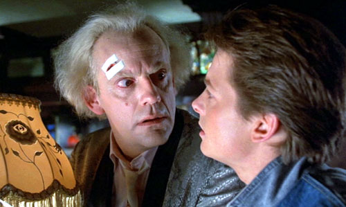 Doc and Marty - Back to the Future
