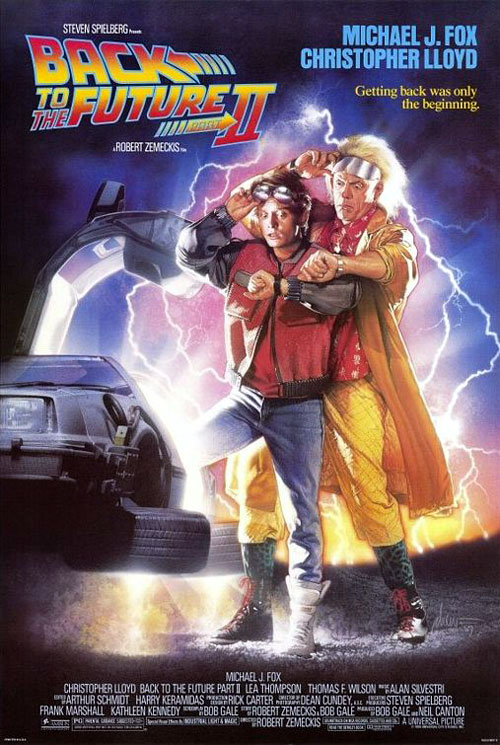 Us poster from the movie Back to the Future Part II