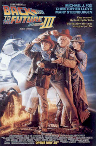 Unknown poster from the movie Back to the Future Part III