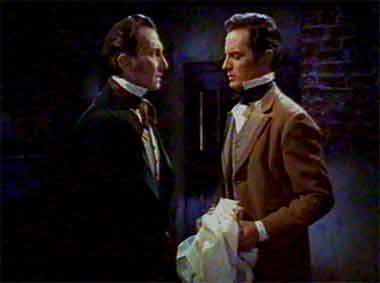 Baron Frankenstein and Dr. Hans Kleve - The Revenge of Frankenstein (The Revenge of Frankenstein)