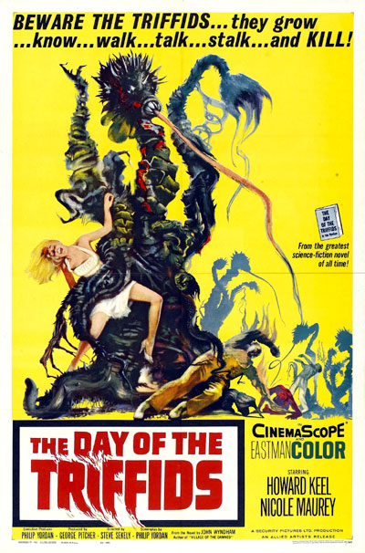 Us poster from the movie The Day of the Triffids