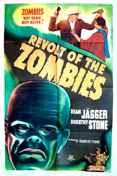 Us poster from the movie Revolt of the Zombies