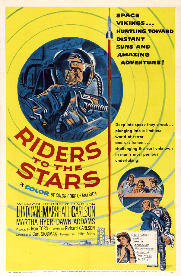 Us poster from the movie Riders to the Stars