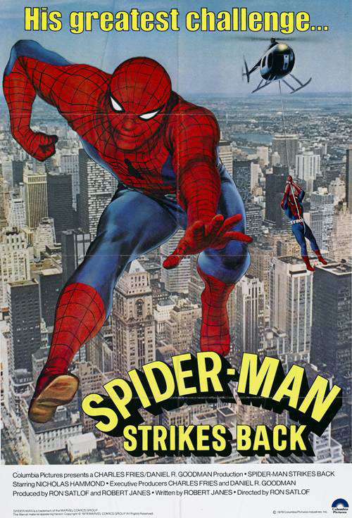 Us poster from the TV movie Spider-Man Strikes Back