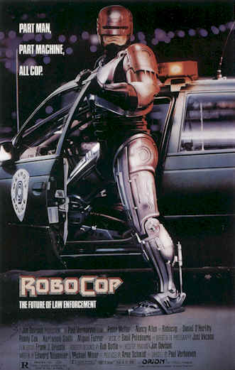 Unknown artwork from the movie RoboCop