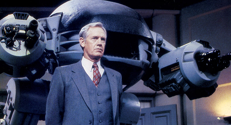 Dick Jones introduces ED209 - RoboCop