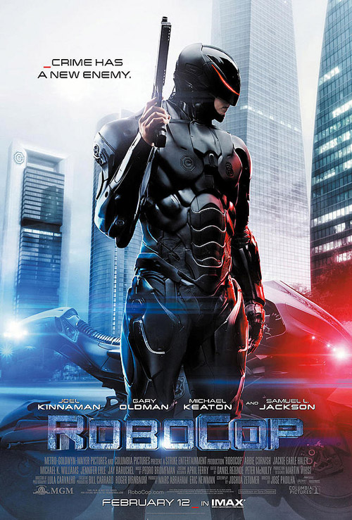 Us poster from the movie RoboCop