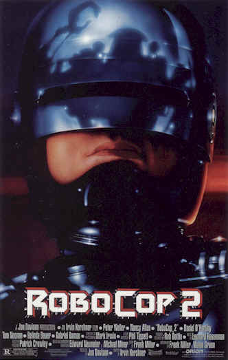 Unknown poster from the movie RoboCop 2
