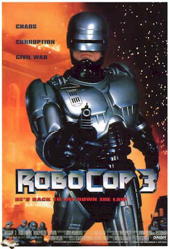 Unknown poster from the movie RoboCop 3
