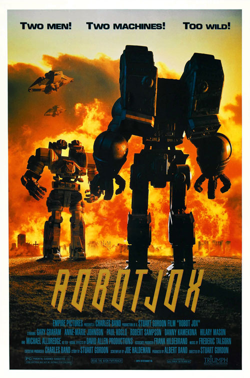 Us poster from the movie Robot Jox