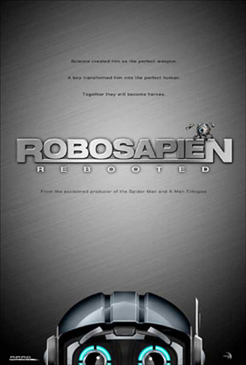 Us poster from the movie Robosapien: Rebooted