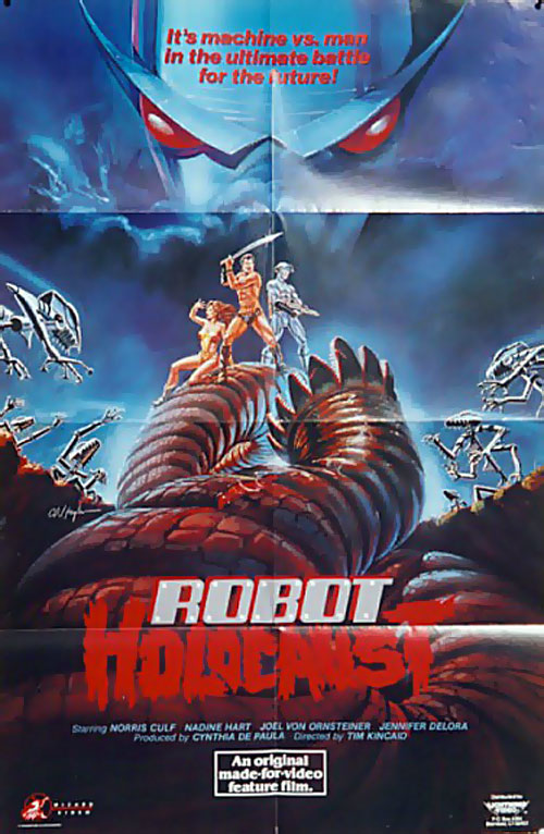 Us poster from the movie Robot Holocaust