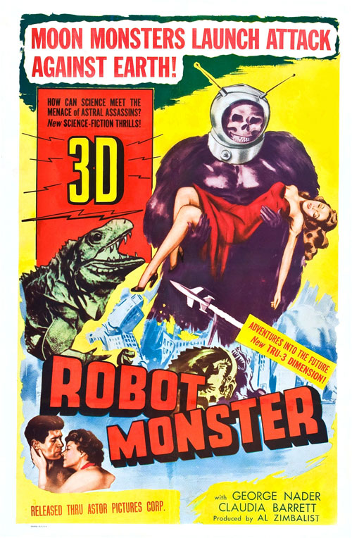Us poster from the movie Robot Monster