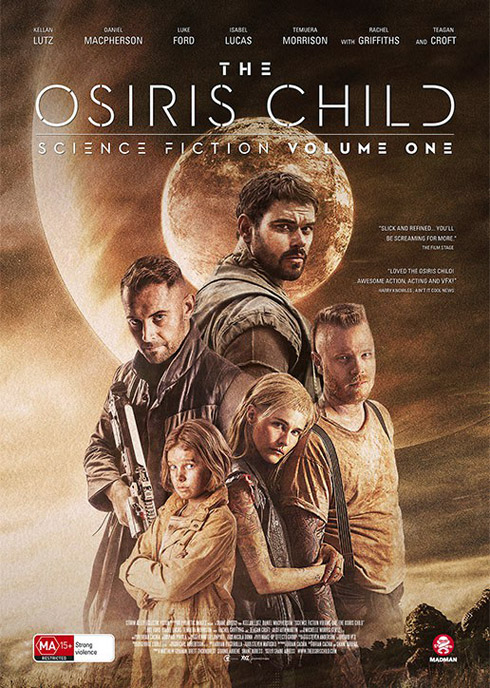 Australian artwork from the movie Science Fiction Volume One: The Osiris Child