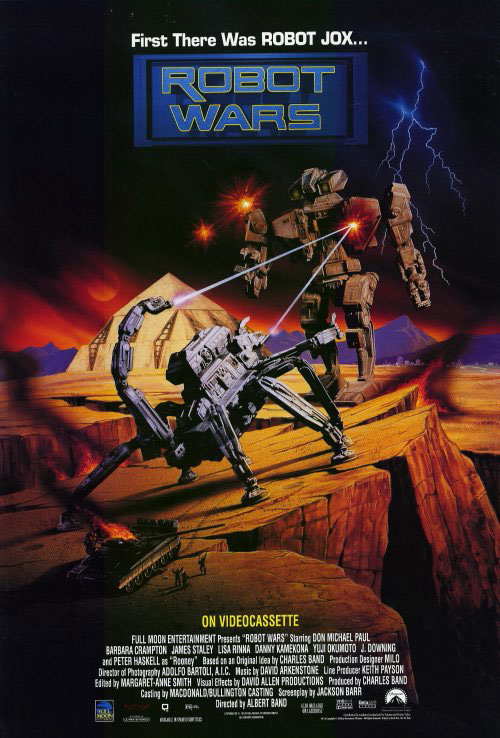 Us poster from the movie Robot Wars