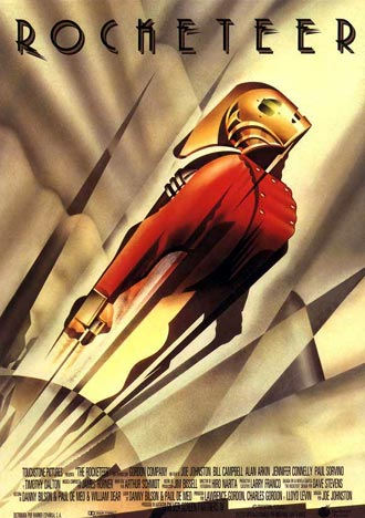 Us poster from the movie The Rocketeer