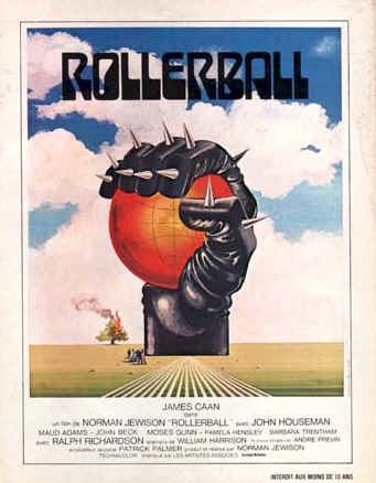 French poster from 'Rollerball'