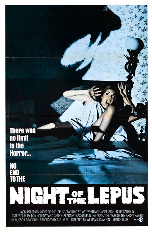 Us poster from the movie Night of the Lepus